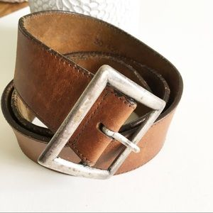 Vintage J Crew Leather Belt